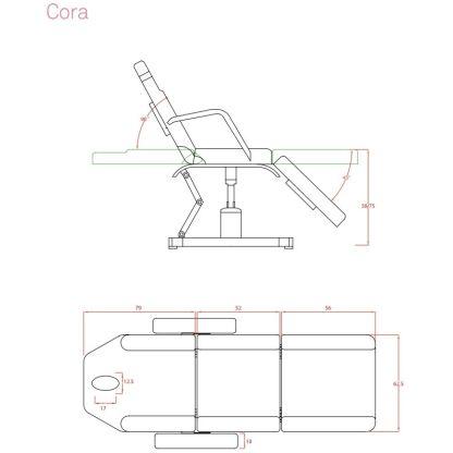 Cora Stationär behandlingsstol