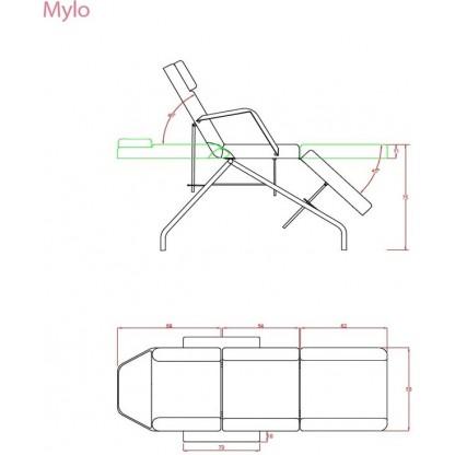 Mylo Behandlingsbänk